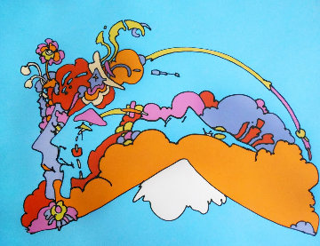 Infinity Watchers 1970 Limited Edition Print - Peter Max