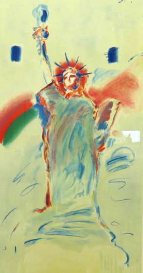 Statue of Liberty 1986 Limited Edition Print by Peter Max