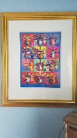 Liberty And Justice For All 2001 24x18 Works on Paper (not prints) by Peter Max - 1