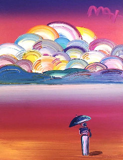 Image of an Era 2016 30x24 Original Painting by Peter Max