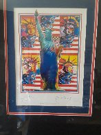 God Bless America Limited Edition Print by Peter Max - 1
