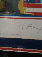 God Bless America Limited Edition Print by Peter Max - 7