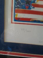God Bless America Limited Edition Print by Peter Max - 2