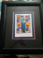 God Bless America Limited Edition Print by Peter Max - 4