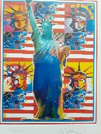 God Bless America Limited Edition Print by Peter Max - 5
