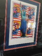 God Bless America Limited Edition Print by Peter Max - 6