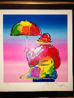 Umbrella Man 2016 Limited Edition Print by Peter Max - 1