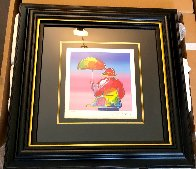 Umbrella Man 2016 Limited Edition Print by Peter Max - 2