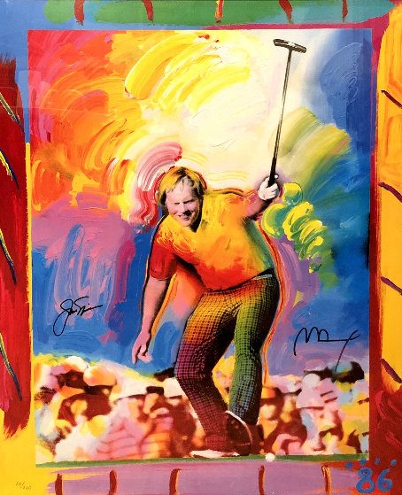 Jack Nicklaus HS by Jack 1986 by Peter Max