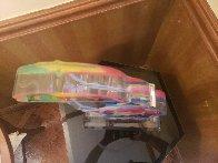 Original Umbrella Man Acrylic Sculpture 20 in  Sculpture by Peter Max - 7