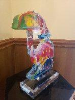 Original Umbrella Man Acrylic Sculpture 20 in  Sculpture by Peter Max - 3