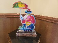 Original Umbrella Man Acrylic Sculpture 20 in  Sculpture by Peter Max - 2