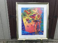 Vase of Flowers 2002 Limited Edition Print by Peter Max - 1