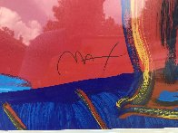 Vase of Flowers 2002 Limited Edition Print by Peter Max - 2