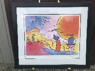 Two Sages in Sun 2003 Limited Edition Print by Peter Max - 1