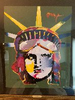Liberty Head 45x35 Super Huge Works on Paper (not prints) by Peter Max - 1