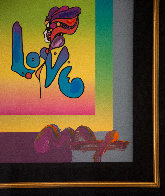 Love on Blends Unique 2006 10x8 Works on Paper (not prints) by Peter Max - 2