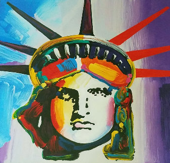 Liberty Head 2012 Limited Edition Print - Peter Max