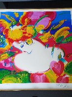 Flower Blossom Lady 2012 Limited Edition Print by Peter Max - 2