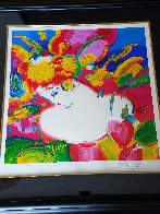 Flower Blossom Lady 2012 Limited Edition Print by Peter Max - 1