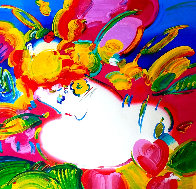Flower Blossom Lady 2012 Limited Edition Print by Peter Max - 0