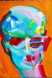 HIEROGLYPHICS I    AP 1970 Limited Edition Print by Peter Max