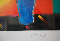 Vase of Flowers 2011 Limited Edition Print by Peter Max - 3