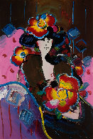 Brown Lady 1997 36x24 Works on Paper (not prints) by Peter Max - 0
