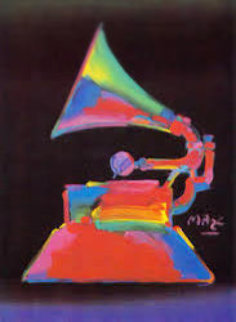 Grammy \'89 1989 Limited Edition Print - Peter Max