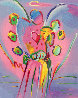 Angel With Heart 2015 Limited Edition Print by Peter Max - 0