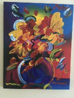 Untitled Still Life Original Painting by Peter Max - 1