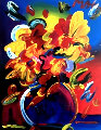 Untitled Still Life Original Painting - Peter Max