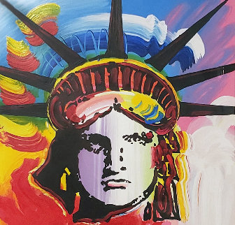 Liberty Head II 2015 Limited Edition Print by Peter Max