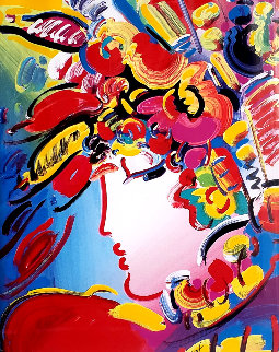 Beauty 2001 Limited Edition Print - Peter Max