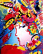 Beauty 2001 Limited Edition Print by Peter Max - 0
