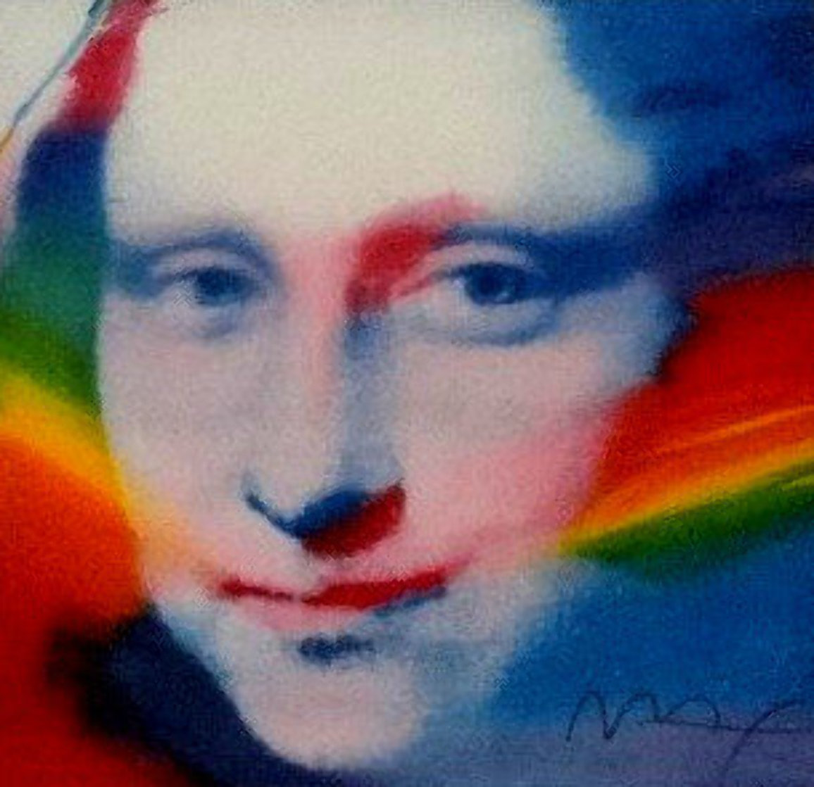 Mona Lisa: Retrospective IV Suite 1981 Limited Edition Print by Peter Max