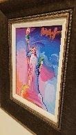 Statue of Liberty Ver IX  Unique 2016 14x12  Original Painting by Peter Max - 5
