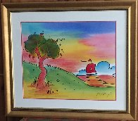Quiet Lake III 2000 Limited Edition Print by Peter Max - 1