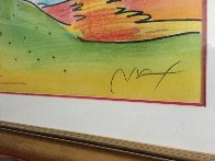 Quiet Lake III 2000 Limited Edition Print by Peter Max - 3