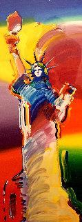 Statue of Liberty 2014 Limited Edition Print by Peter Max