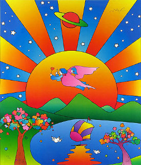Universal Harmony 2007 Limited Edition Print - Peter Max