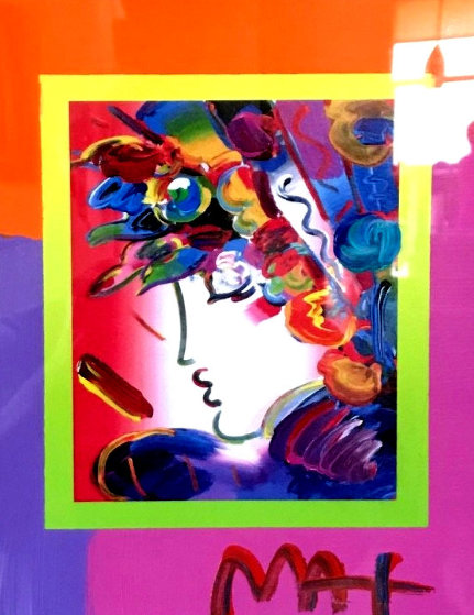 Blushing Beauty 2006 10x8 by Peter Max
