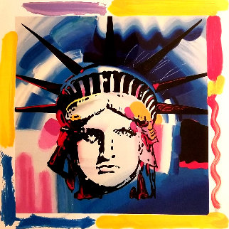 Elvis Liberty Rare Suite of 4  1993:  Limited Edition Print by Peter Max