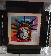 Liberty Head II 2015 Limited Edition Print by Peter Max - 1