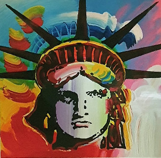 Liberty Head II 2015 Limited Edition Print - Peter Max
