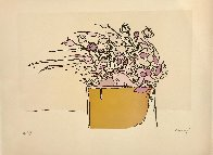 Flowers in the Wind AP 1974 Limited Edition Print by Peter Max - 1