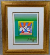 Cosmic Runner on Blends 2006 31x27 Works on Paper (not prints) by Peter Max - 1