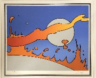 Close to the Sun (Vintage) 1977 Limited Edition Print by Peter Max - 1