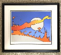 Close to the Sun (Vintage) 1977 Limited Edition Print by Peter Max - 2