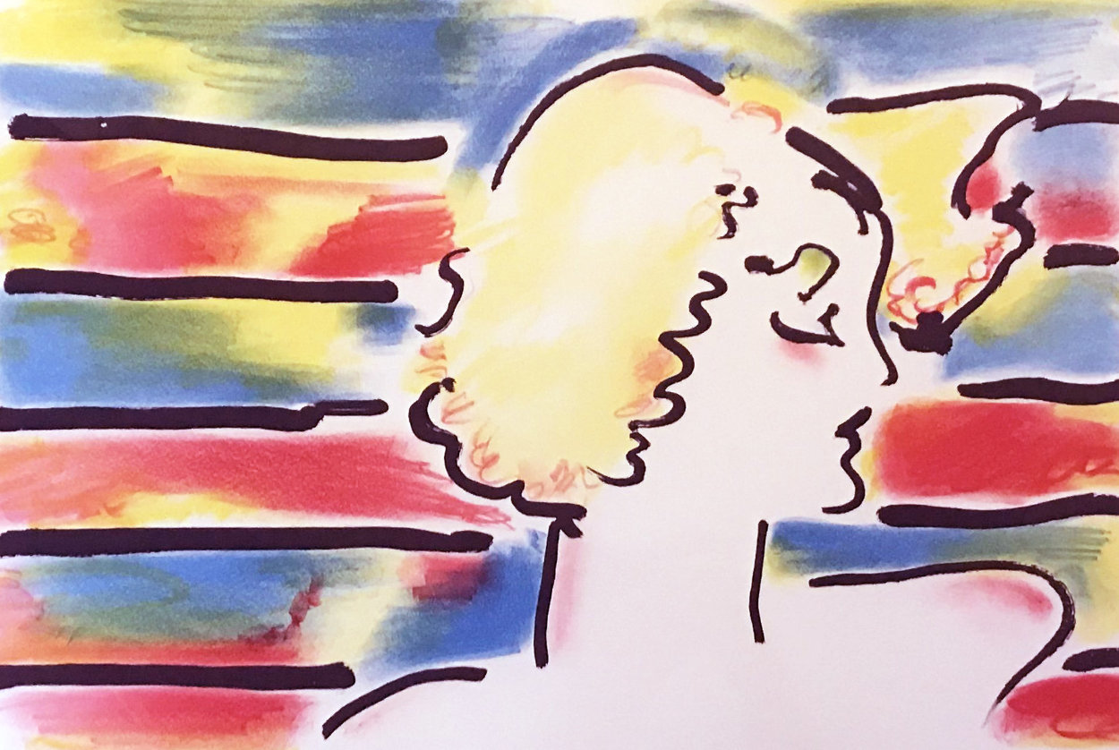 American Woman 1980 Limited Edition Print by Peter Max